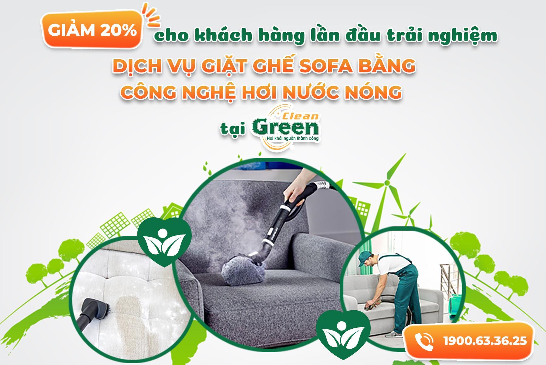 hướng dẫn giặt sofa