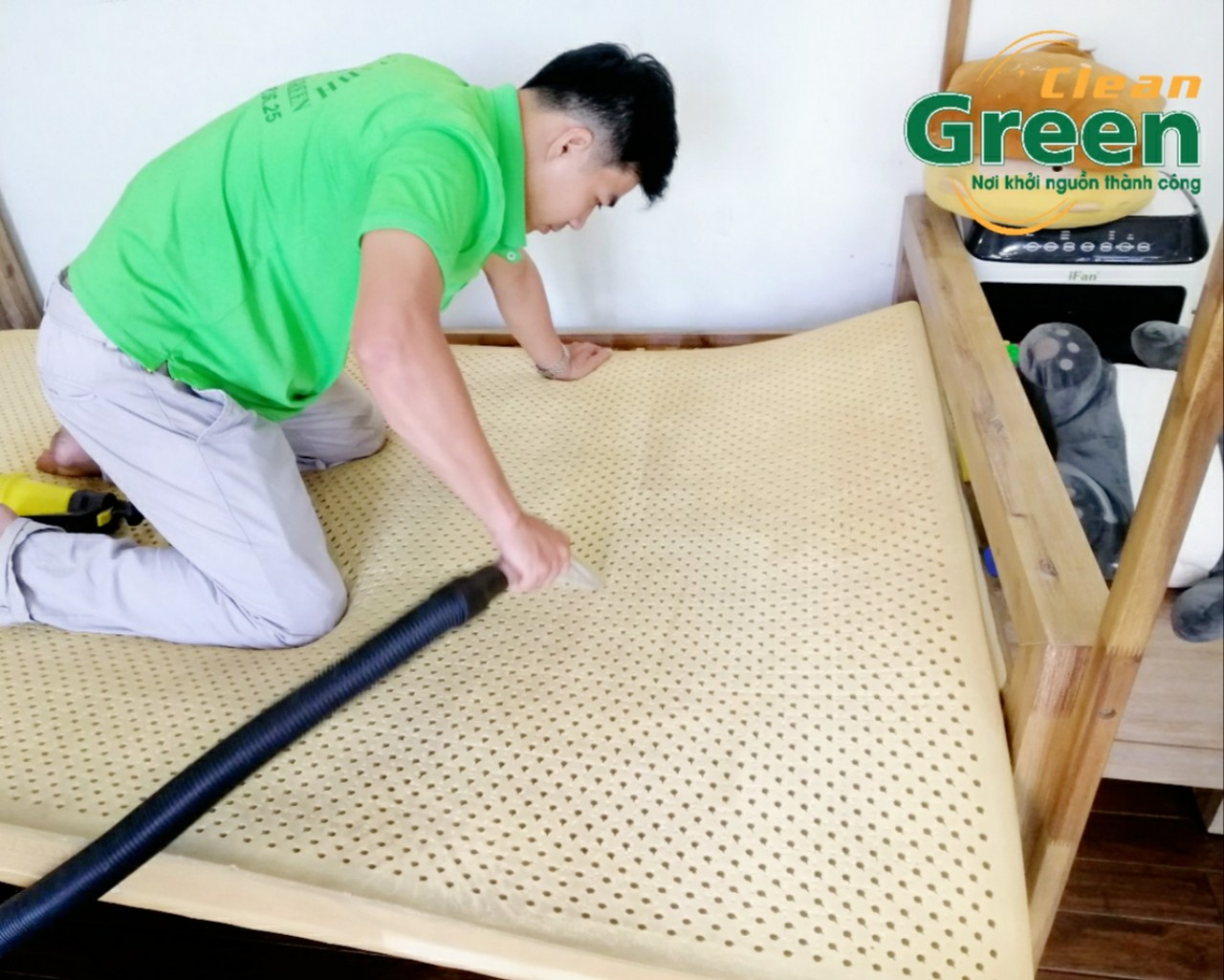 Green Clean - Dịch vụ vệ sinh nệm tại nhà Bình Dương
