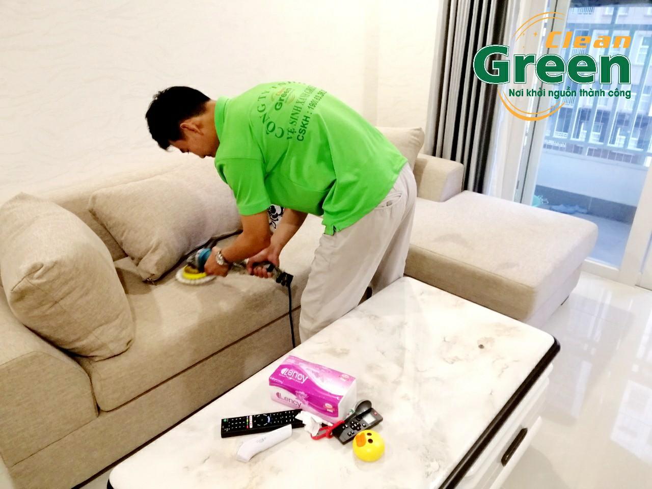 Green Clean - Dịch vụ giặt ghế sofa chuyên nghiệp tại Bình Dương