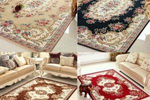 Những loại thảm lót sàn cao cấp được sử dụng tại phòng khách