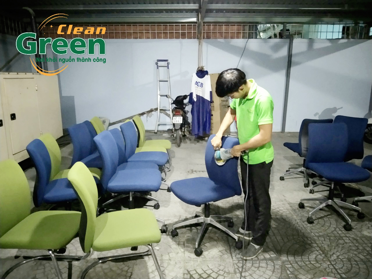 vệ sinh Green Clean