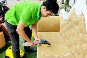 Quy trình vệ sinh ghế sofa đúng chuẩn bạn có thể áp dụng ngay tại nhà
