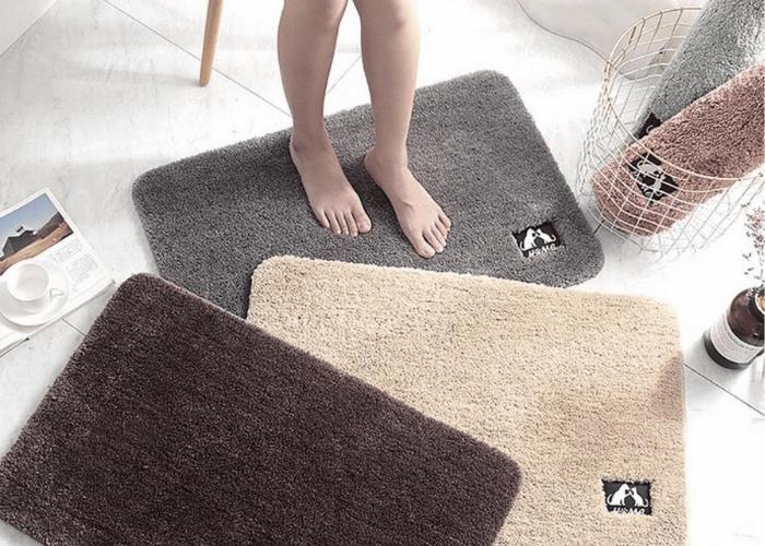 giặt thảm lông trải sàn phòng ngủ